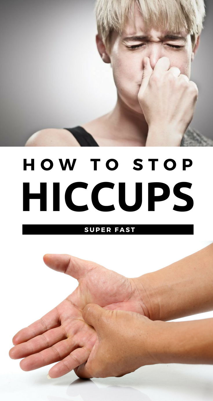 How To Get Rid Of Hiccups Fast Without Water