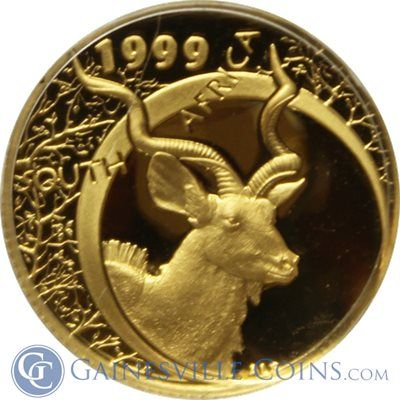 1999 2000 South Africa Natura Series 1 10 Oz Gold 2 Coin Set Kudu Sable W Diamond Ruby Crown Mintage Of Only 200 Sets Coins Gold And Silver Coins Gold Coins