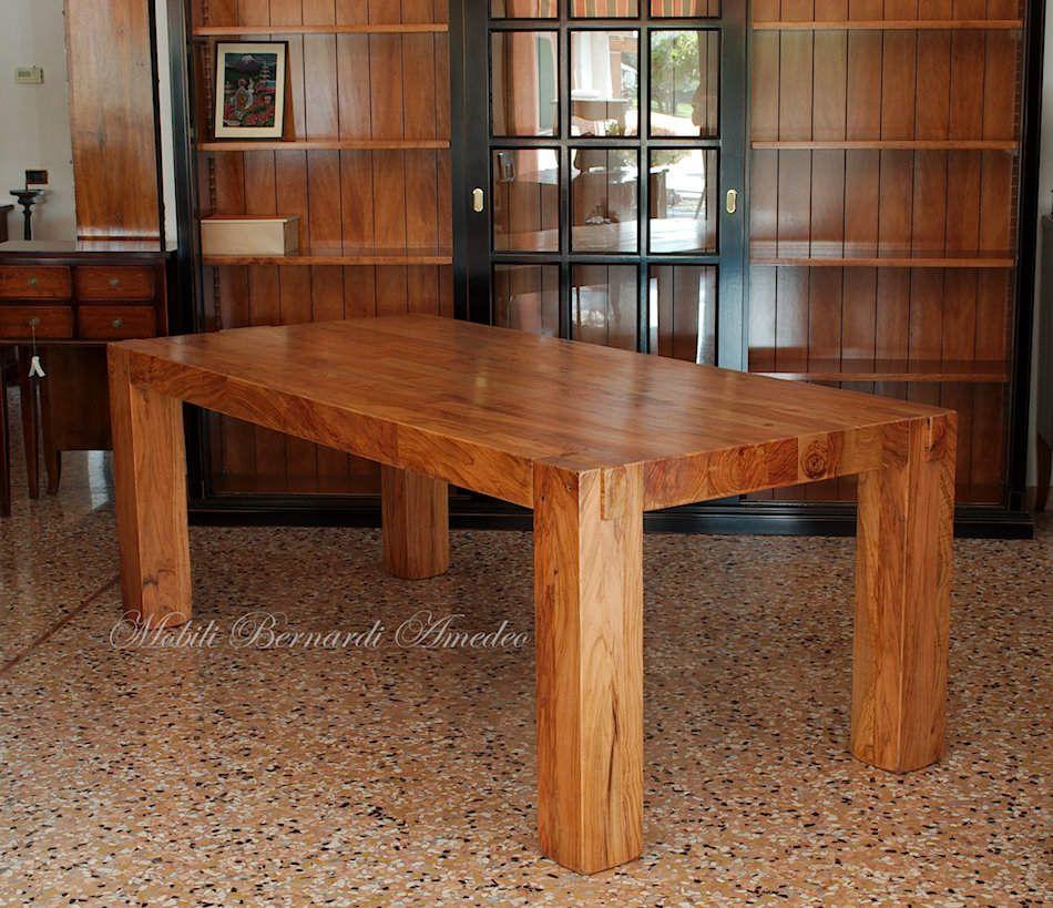 Tavoli E Tavolini In Ulivo Massello Tavoli Mobili Italiani Tavoli Mobili