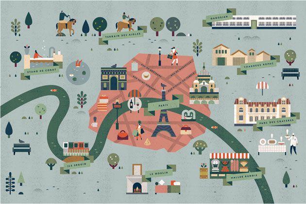 Lotta Nieminen Paris map