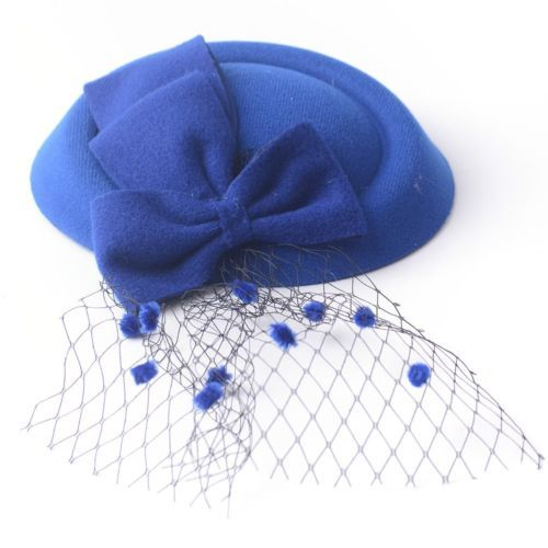 women-handmade-fascinator-hair-clips-bow-veil-hat-bridal-party-wedding-xmas-gift