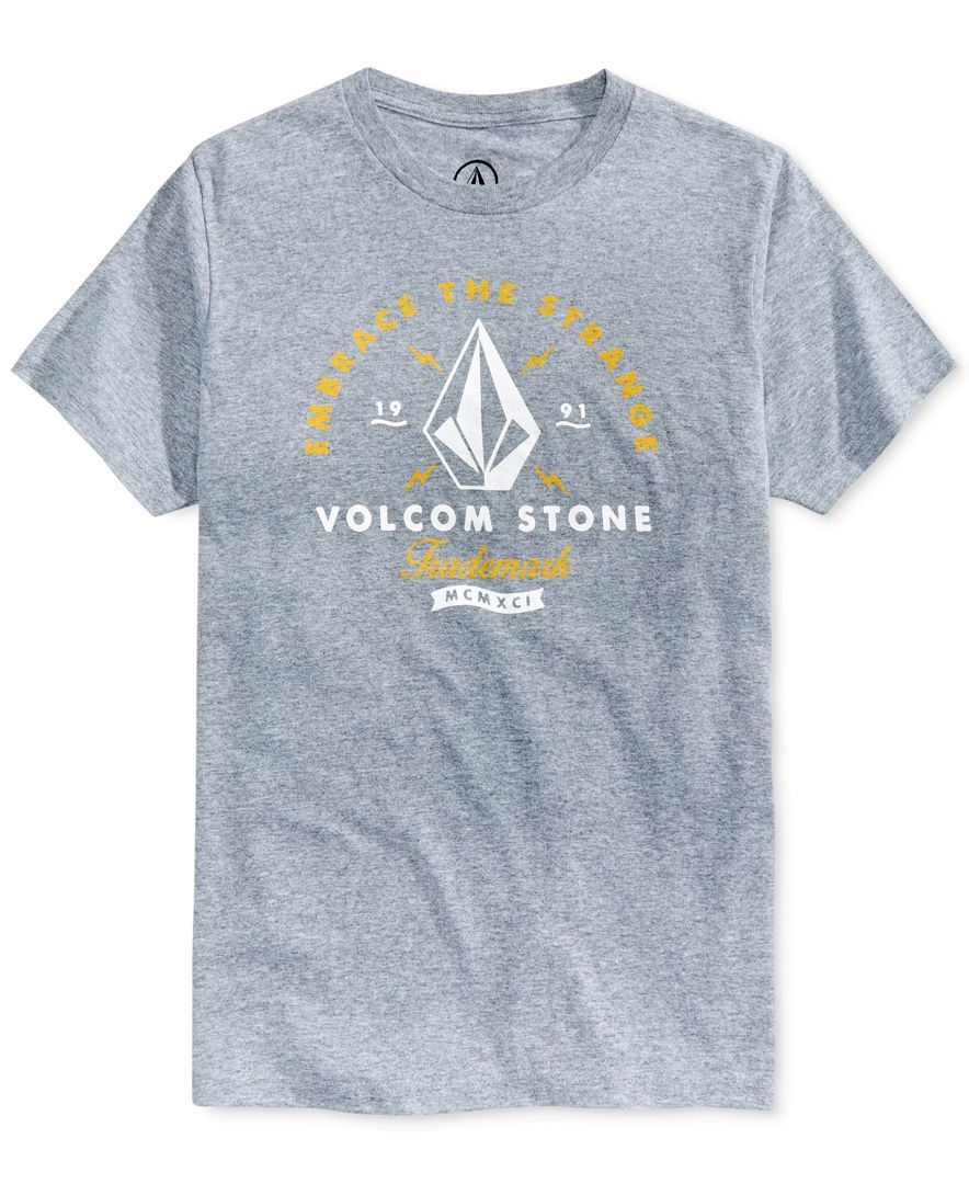 aa79cdf2 Volcom Men's Standard Graphic-Print T-Shirt | Products | Graphic ...