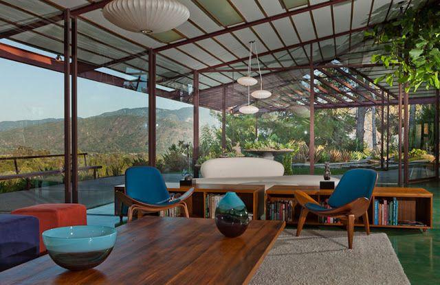 Rodney Walker's private residence (1959); Location: Ojai, California