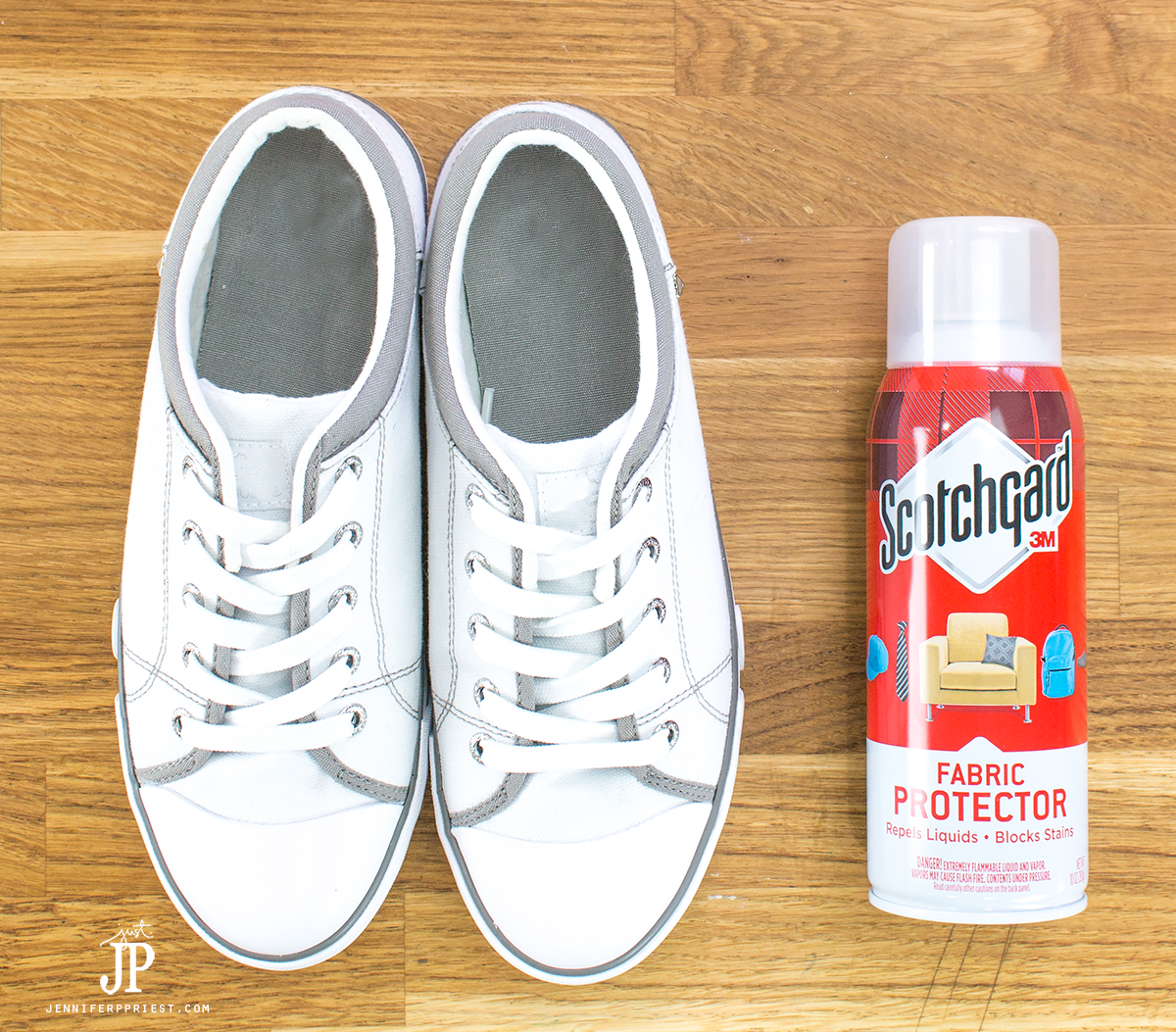 How to Protect White Shoes with