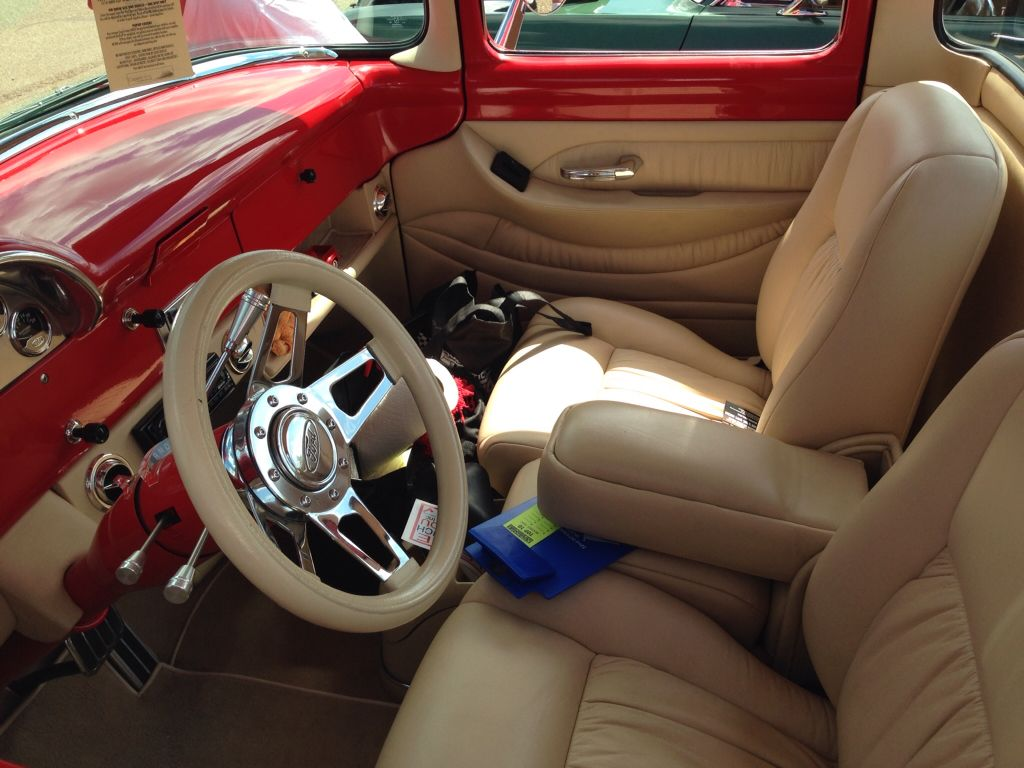 1956 chevy tattoo submited images pic2fly - 56 Ford F 100 Bodie Stroud Restomod Interior Classic Cars Muscle Speciality Jlw Pinterest Ford Truck Interior And Cars