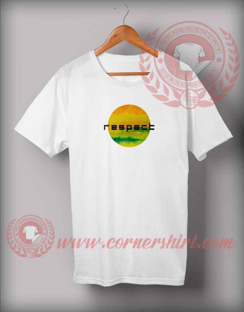 Respect Watercolor T Shirt Price 12 00 Shirt Custom Made