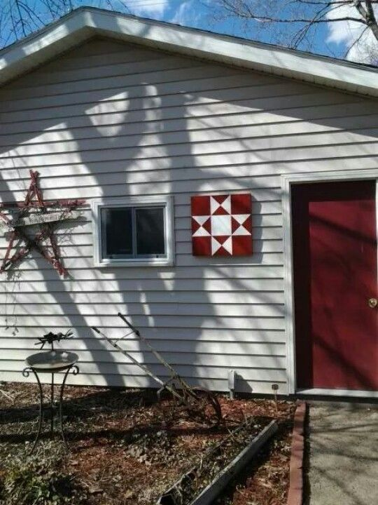 Barn quilt by Bruce