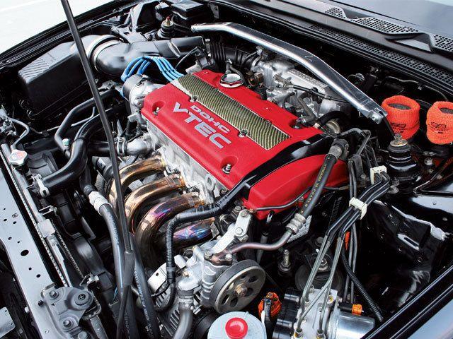 Honda Prelude Engine Bay  | JDM | Honda prelude, Honda