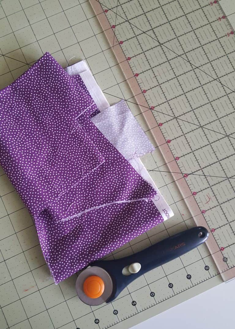 How to Sew an Easy Travel Fabric Tissue Holder Sewing