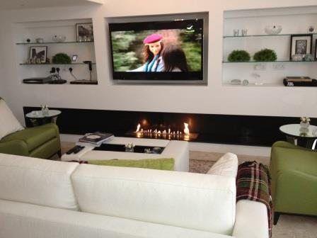 Bio-Ethanol-Brenner-Tv http\/\/wwwa-fireplace\/de\/kamin-tv - wohnzimmer kamin ethanol