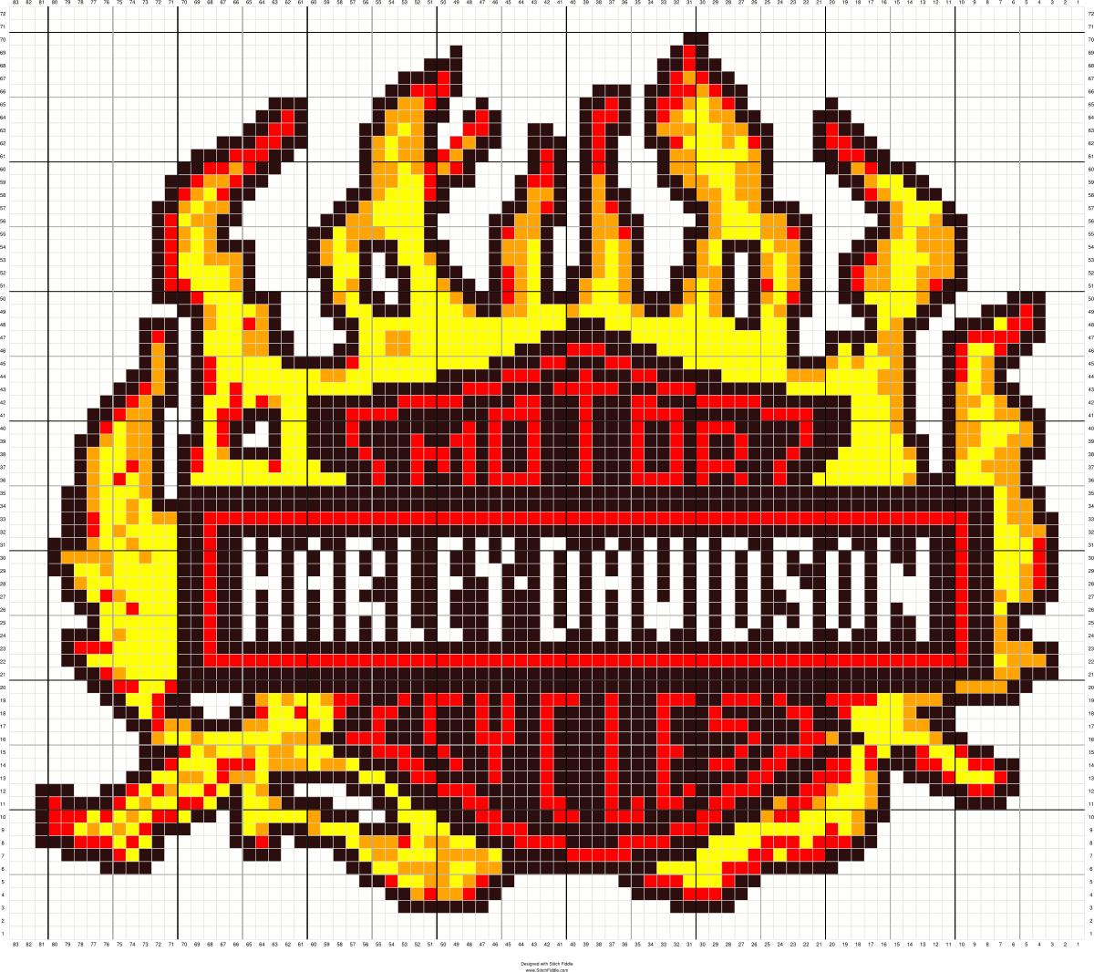 harley-davidson | perler beads | Beaded cross stitch, Harley