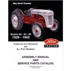 Ford 8n Manual Ford Tractors Tractors Ford Tractor Parts