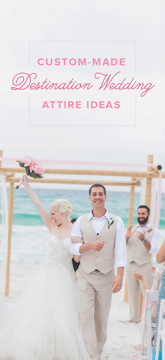 Custom Made Destination Wedding Outfit Ideas See More Fun Colorful Attire Themes In All Natural Linen And Silk From Islandimporter