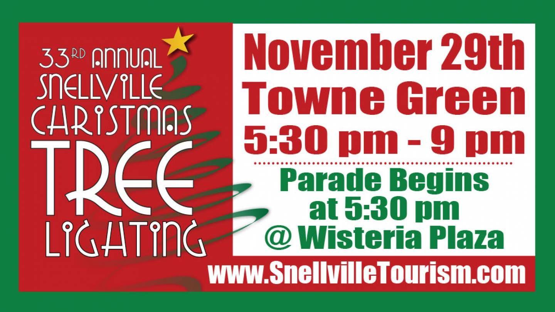 Snellville Ga Georgia Christmas Tree Lighting Christmas Tree Tree