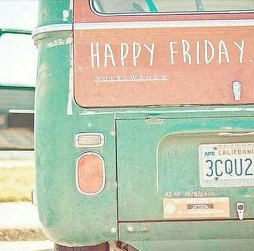 American Hippie ☮ VW Bus .. Friday