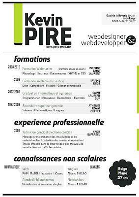 Diseno Grafico Web 40 Excelentes Ejemplos Disenos De Curriculum