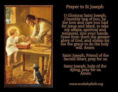 Novena to st joseph for a spouse