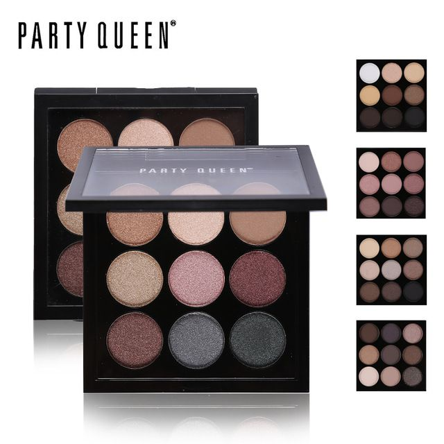 Online Shop Party Queen 9 Earth Matte Color Naked Eyeshadow Palette
