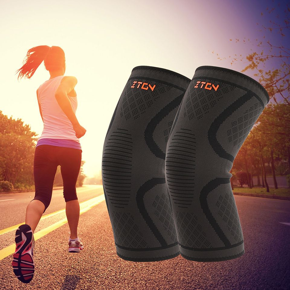 Breathable Warmth Basketball Football Sports Safety Kneepad Volleyball Knee Pads Training Elastic Knee Su Volleyball Knee Pads Sports Safety Sports Accessories