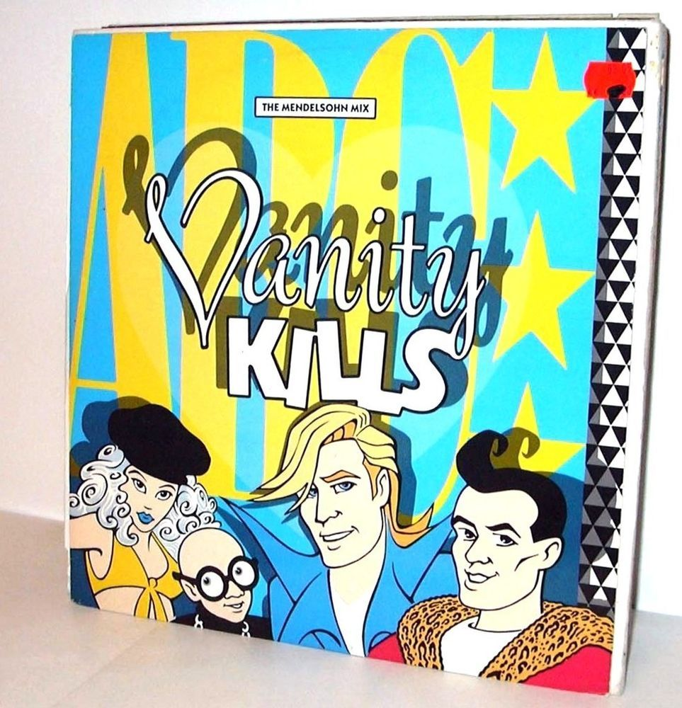 ABC - Vanity Kills UK 1985 12  Maxi Vinyl