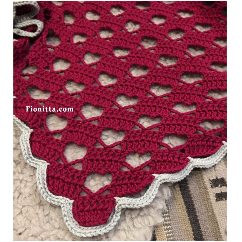 Pattern: Heart shawl | Crochet Stitches | Pinterest | Diy häkeln ...