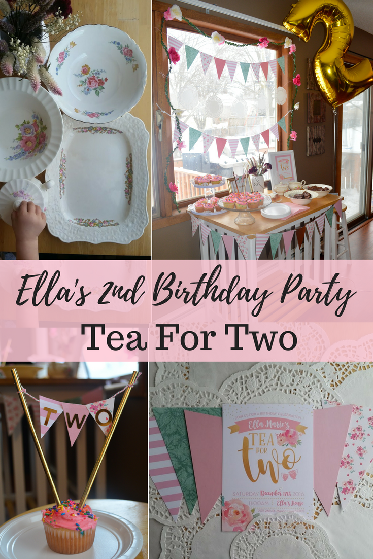Ella S Tea For Two Birthday Party Cold Coffee Blessings 2nd Birthday Party For Girl March Birthday Party Ideas Spring Birthday Party