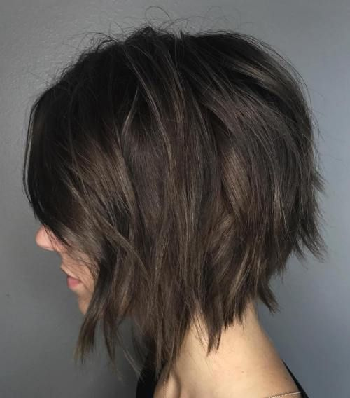 60 Messy Bob Frisuren für Ihre trendige Casual Looks - Beste Frisuren Haarschnitte #casuallook