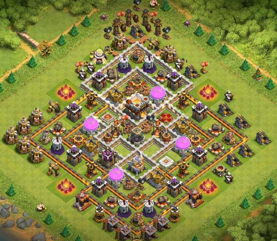 Coc Th11 Farming Base 1