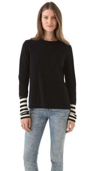 Marc by Marc Jacobs Zag Cashmere Sweater nice sleeve effect ...