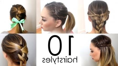Stunning Easy Quick Hairstyles For School Wallpaper