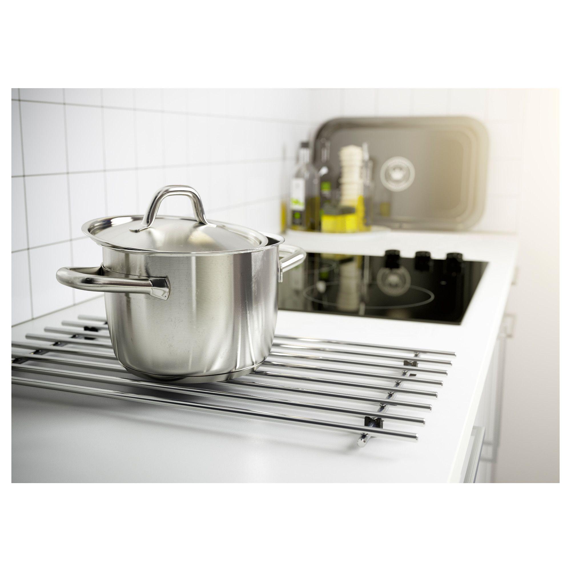 Ikea Kitchen Usa: IKEA - LÄMPLIG Trivet Stainless Steel