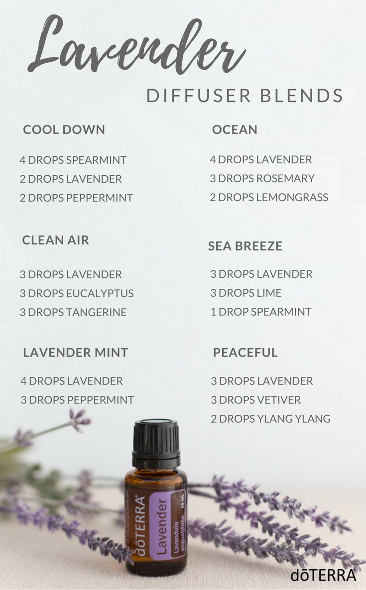 Lavender Diffuser Blends Essential Oils Essential Oils