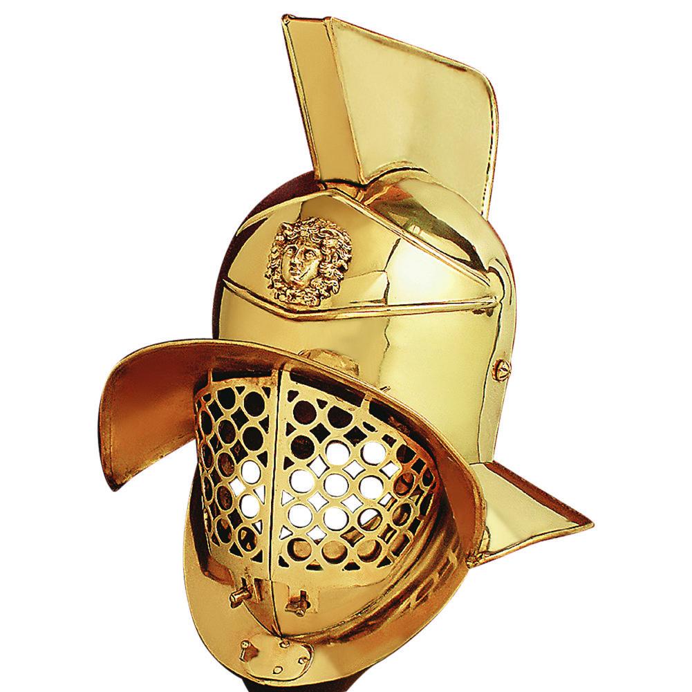 Gladiator Helmet (Brass)
