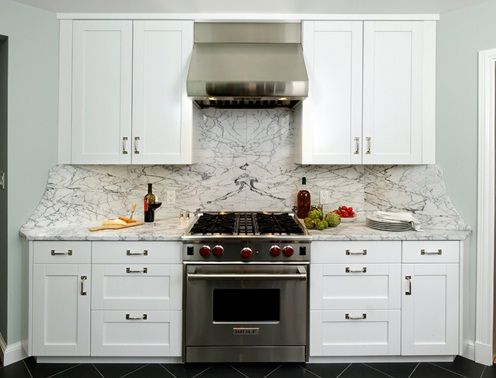 White Frameless Kitchen Cabinets Interior Design Kitchen