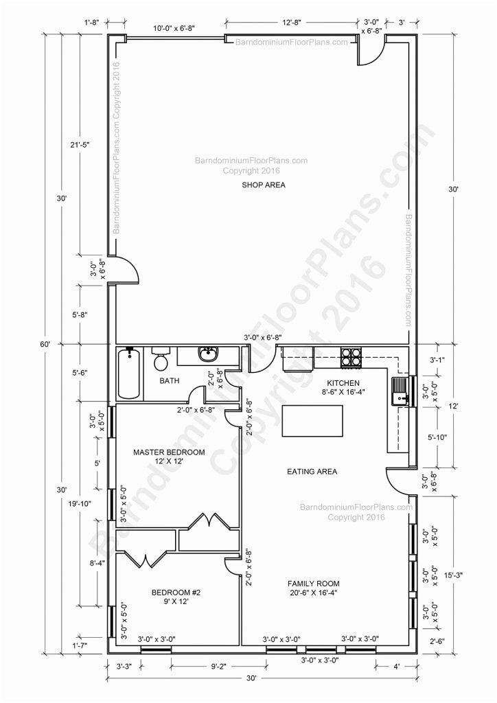 Free Floor Plans Designer Pole Barn House Plans Barndominium Floor Plans Garage House Plans