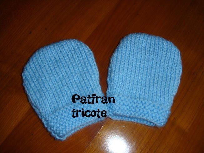 Explications Moufles pour Bébé – patfran tricote