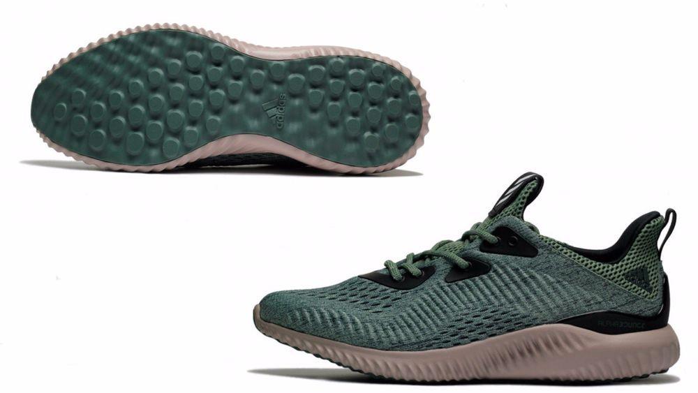 Men's Adidas Originals AlphaBOUNCE Engineered Mesh POISON