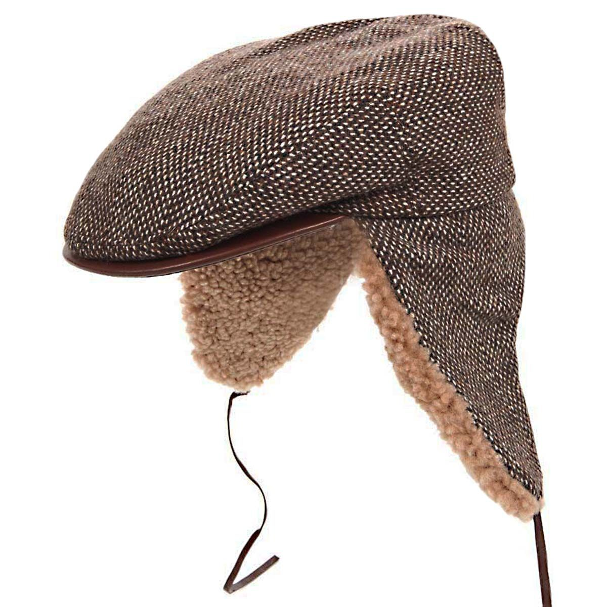 c526b50df Image result for flat cap with ear flaps   Hat Making   Flat cap ...