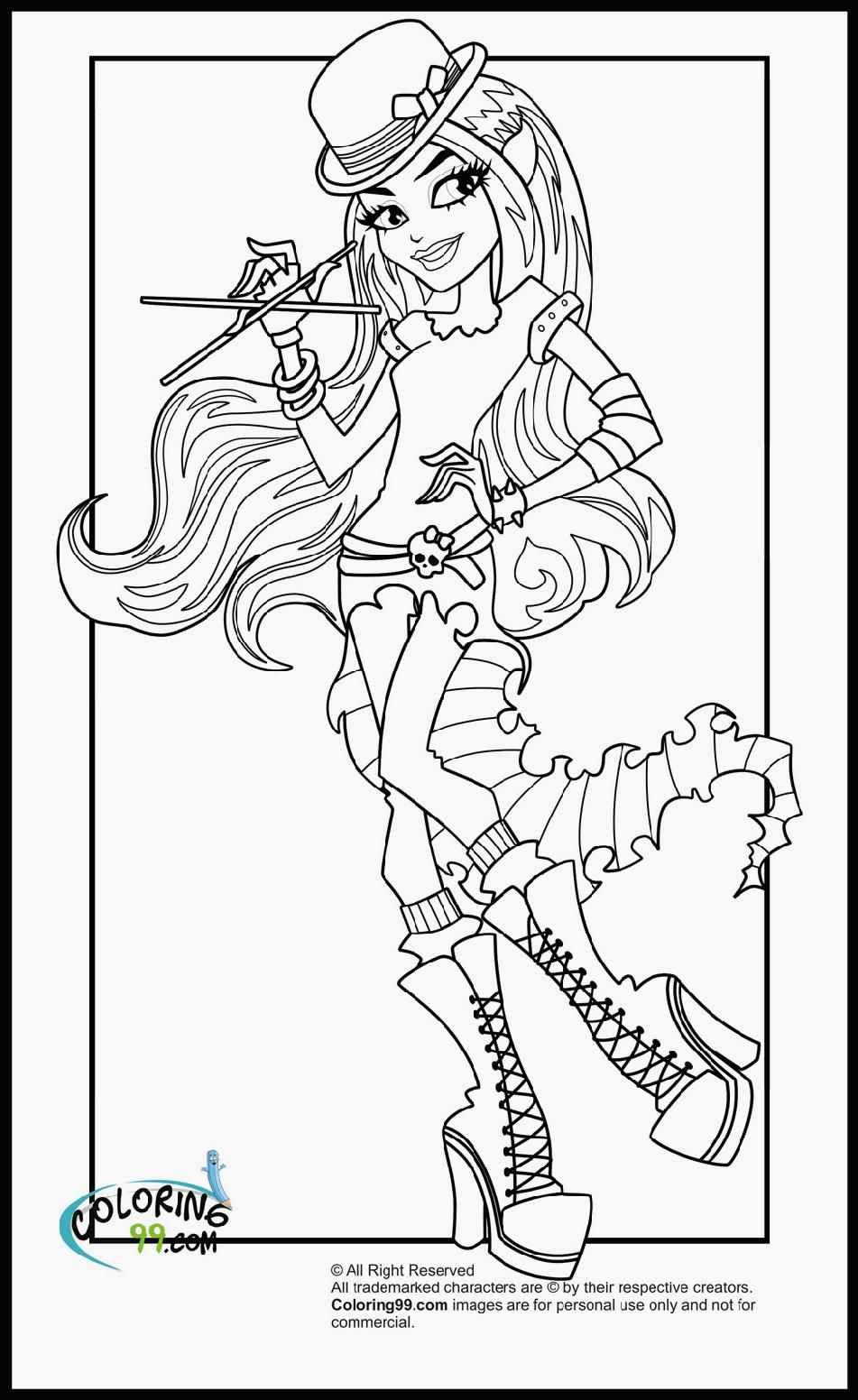 monster-high-coloring-pages-baby-to-print-66971.jpg (951×1552) | day ...