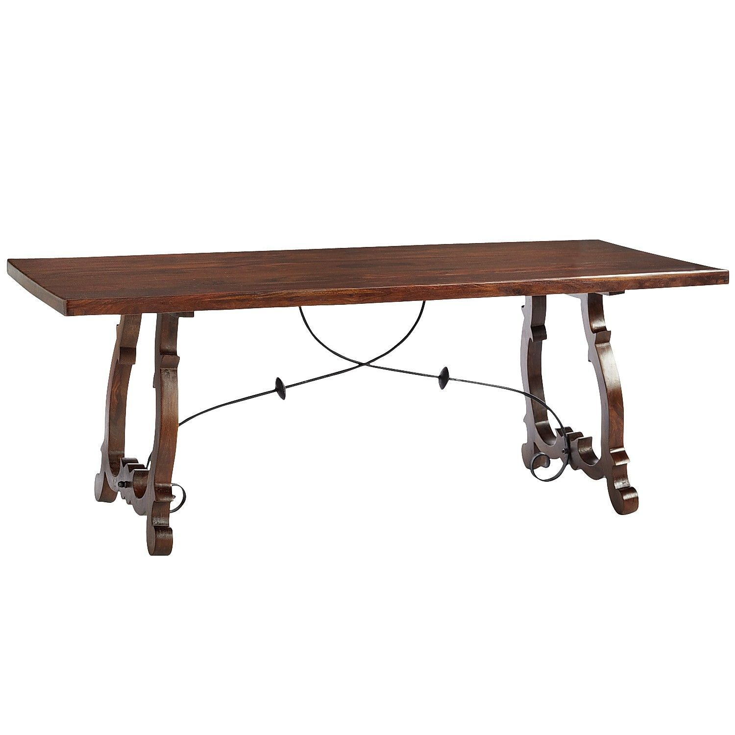 Pier 1 599 Indira Trestle Dining Table Brown I Love This
