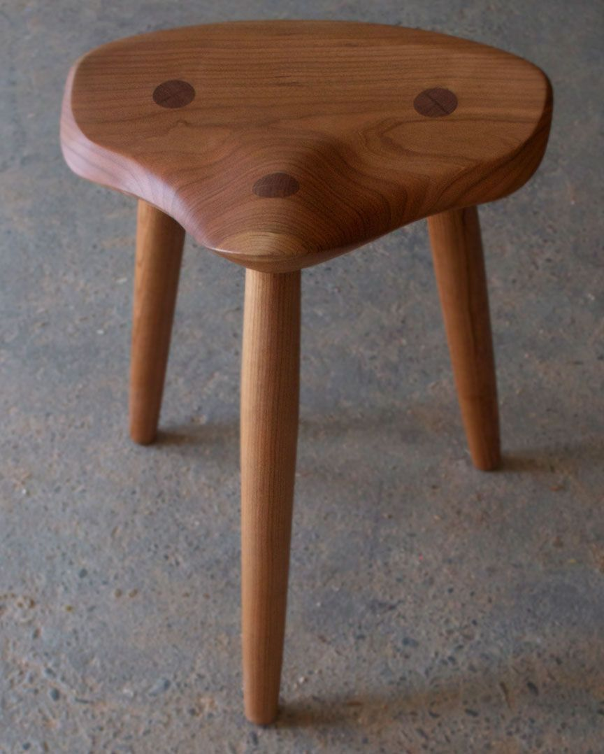 Bicycle seat custom wood stool made of cherry. & Bicycle seat custom wood stool made of cherry. | Woodworking ... islam-shia.org