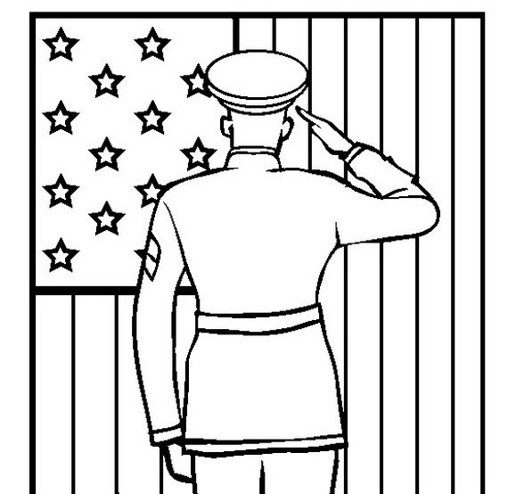 Add Fun, Veterans Day Coloring Pages for Kids - family holiday.net/guide to family holidays on the internet #veteransdaydecorations