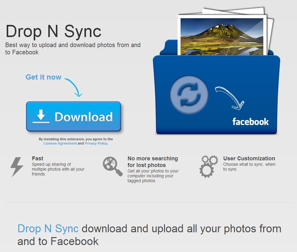 Drop N Sync Best Way To Upload And Download Photos From And To Facebook Time To Learn Nsync Photo Sync