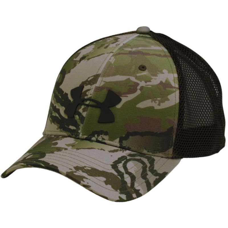 6011e8dcf8cd8 Under Armour Men s Camo Mesh 2.0 Trucker Hat