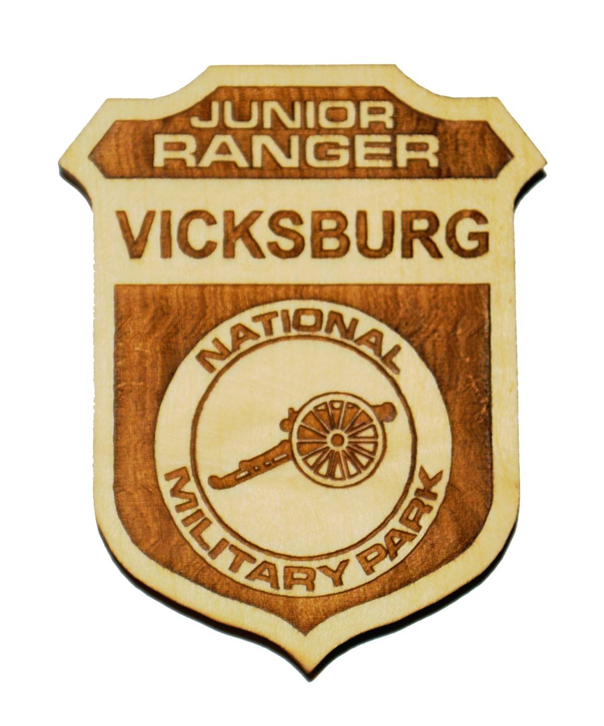 JUNIOR RANGER PROGRAM Custom made Junior Ranger badge