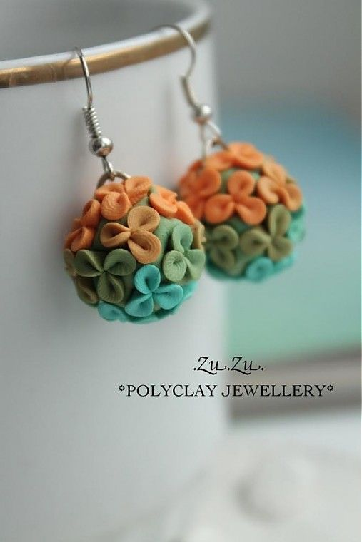 Minule Leto Zu Zu Sashe Sk Handmade Nausnice Polymer