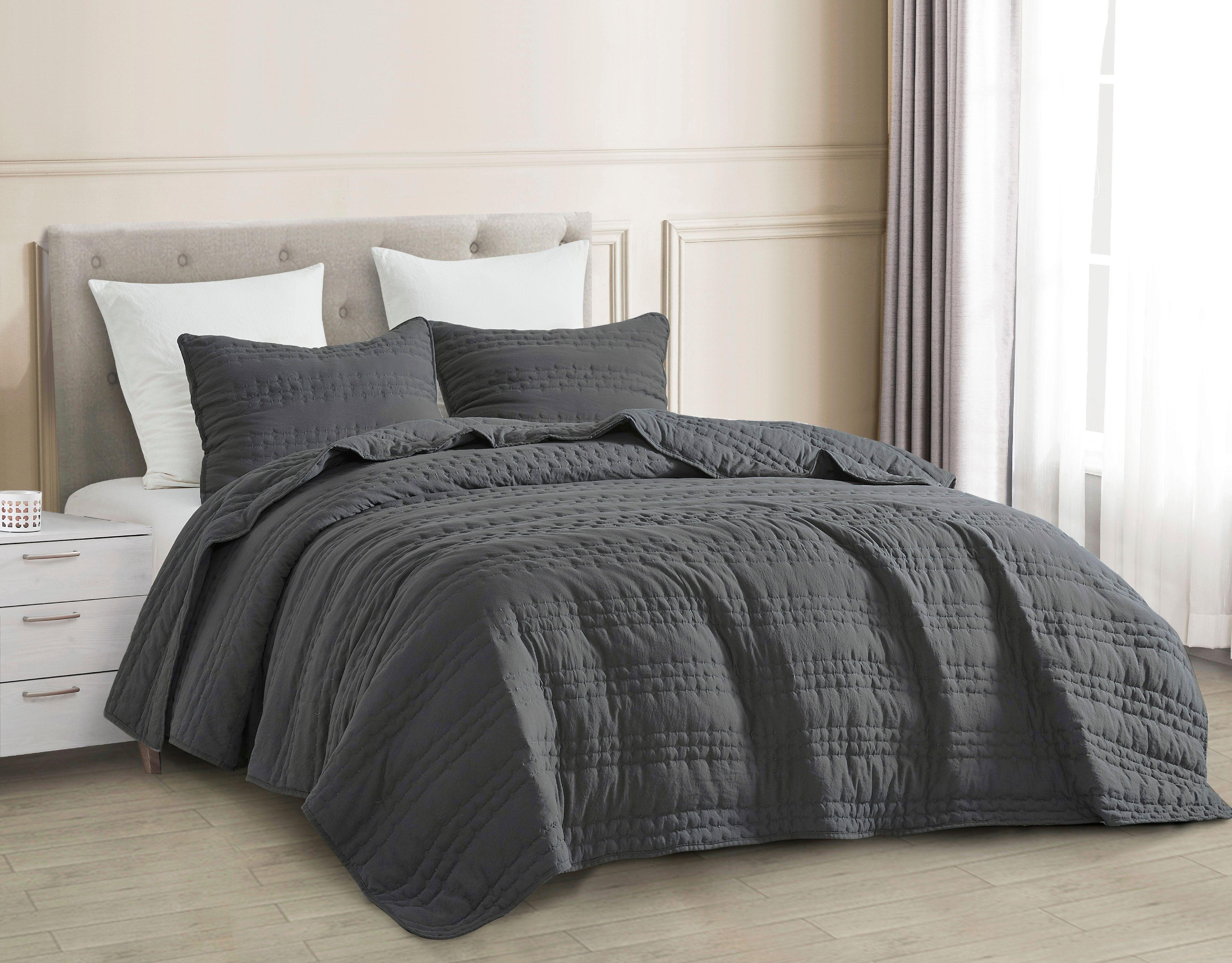 13+ Dark gray bedding set ideas