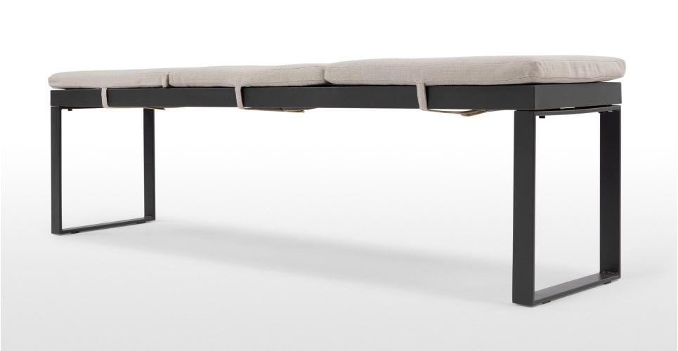 Catania Outdoor Bench, Polywood | made.com