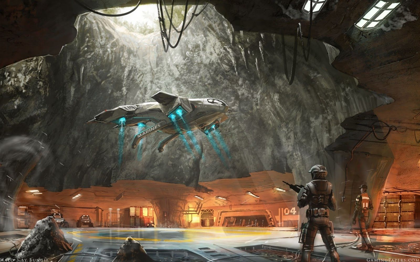 Art Of The Day Concept Art Halo Halo Spartan Halo 3