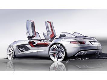 Mercedes Benz Slr Stirling Moss Mercedes Slr Concept Car